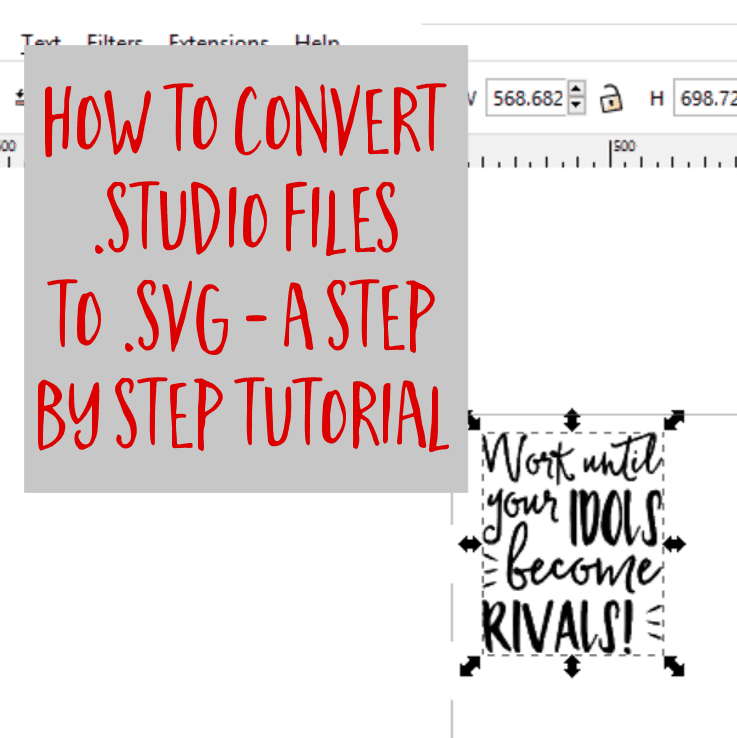 Download How to Convert .studio or .studio3 to .svg from Silhouette ...