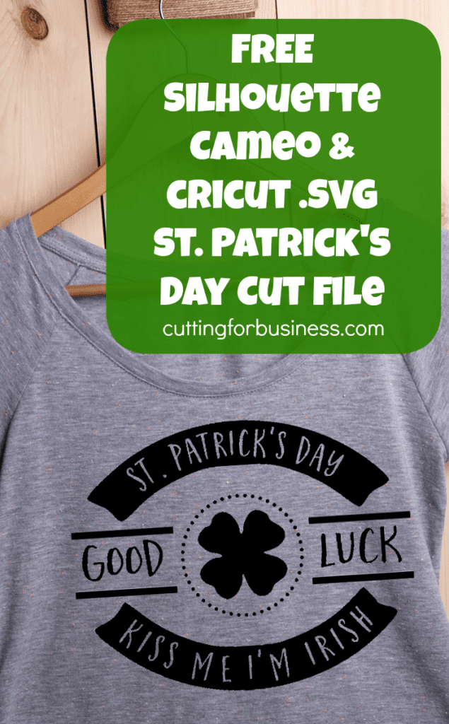 Download Free Commercial Use St. Patrick's Day Cut File for ...