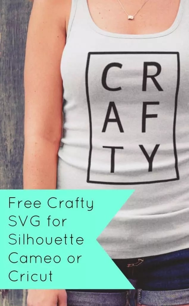 Download Free Crafty SVG for Silhouette or Cricut - Cutting for ...