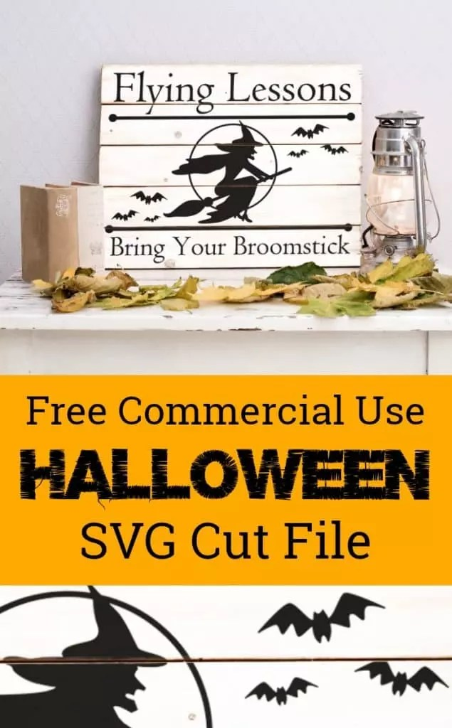 Download Free Halloween Witch SVG Cut File - Cutting for Business
