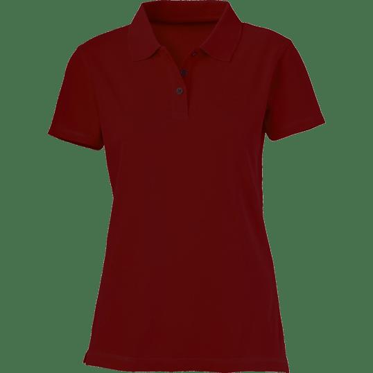 Plain Maroon Women s Polo Shirt – Cutton Garments 4ceb78f23e