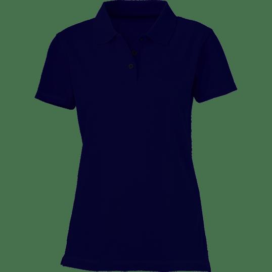 b69a79e7b Plain Navy Blue Women's Polo Shirt – Cutton Garments