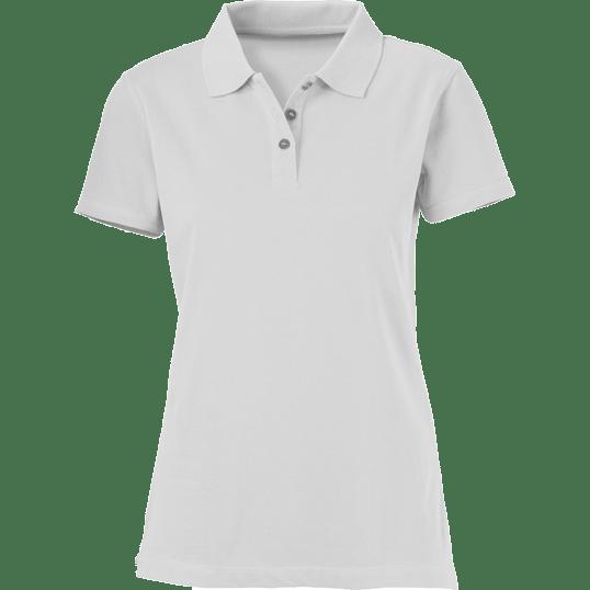 Plain White Ladies Polo Shirt – Cutton Garments