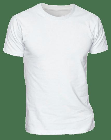White T-Shirt for Men - Cutton Garments