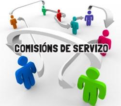 Resultado de imagen de comisions de servizo