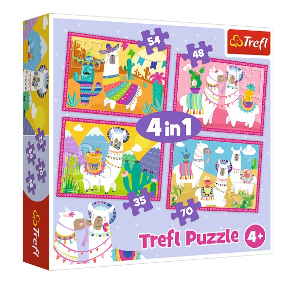 Cuy Games - INFANTIL - 4 IN 1 ALPACAS -