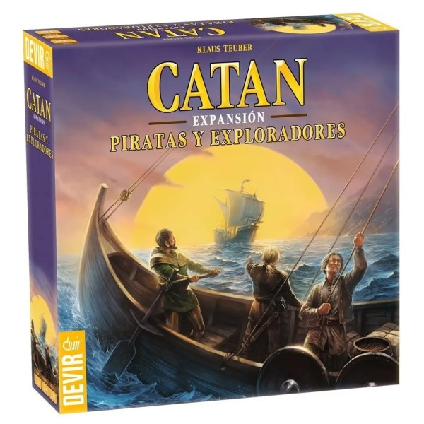 Cuy Games - CATAN - PIRATAS Y EXPLORADORES EXPANSION -