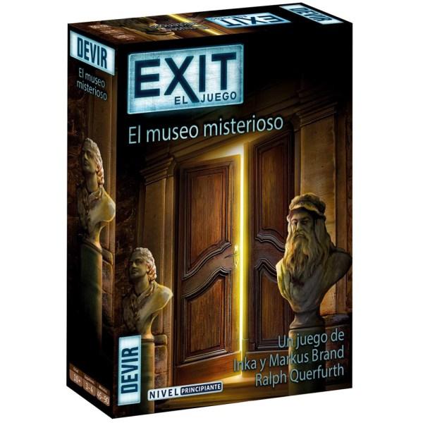 Cuy Games - EXIT EL JUEGO - EL MUSEO MISTERIOSO -