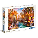 Cuy Games - 500 PIEZAS - SUNSET OVER VENICE -