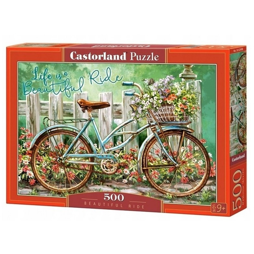 Cuy Games - 500 PIEZAS - BEAUTIFUL RIDE -