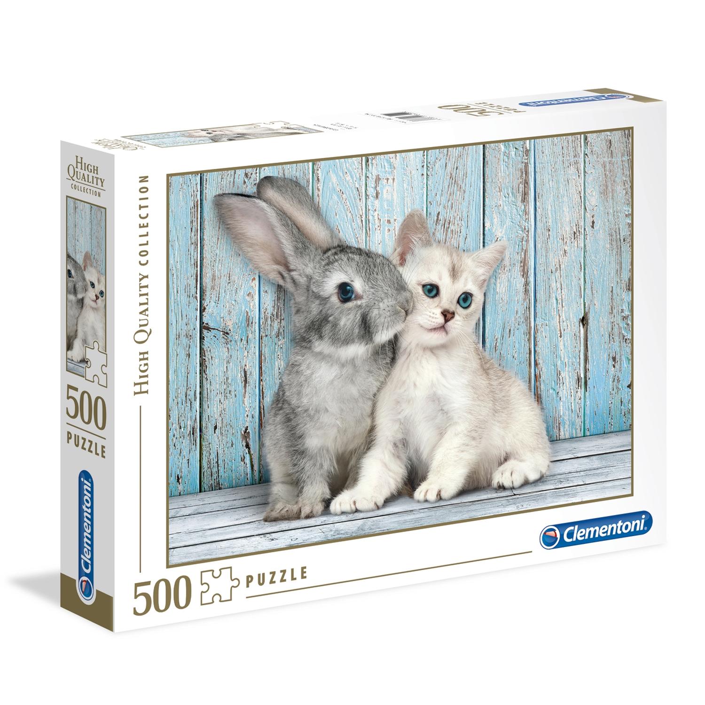 Cuy Games - 500 PIEZAS - CAT & BUNNY -