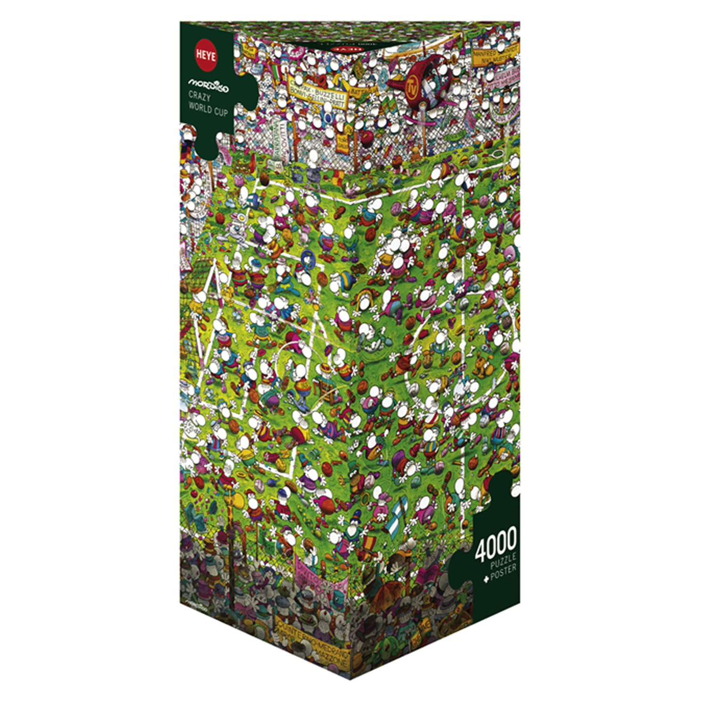 Cuy Games - 4000 PIEZAS - FUTBOL -
