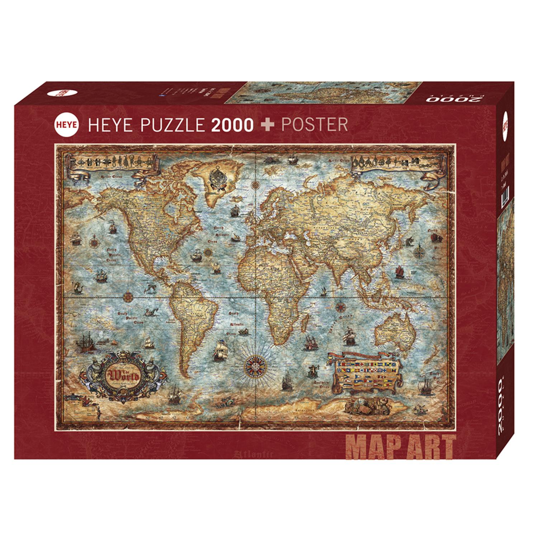 Cuy Games - 2000 PIEZAS - THE WORLD -