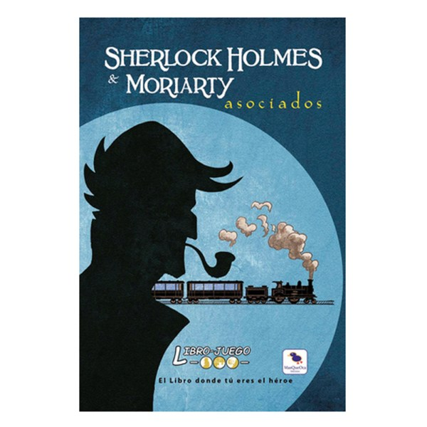 LIBRO JUEGO: SHERLOCK HOLMES & MORIARTY