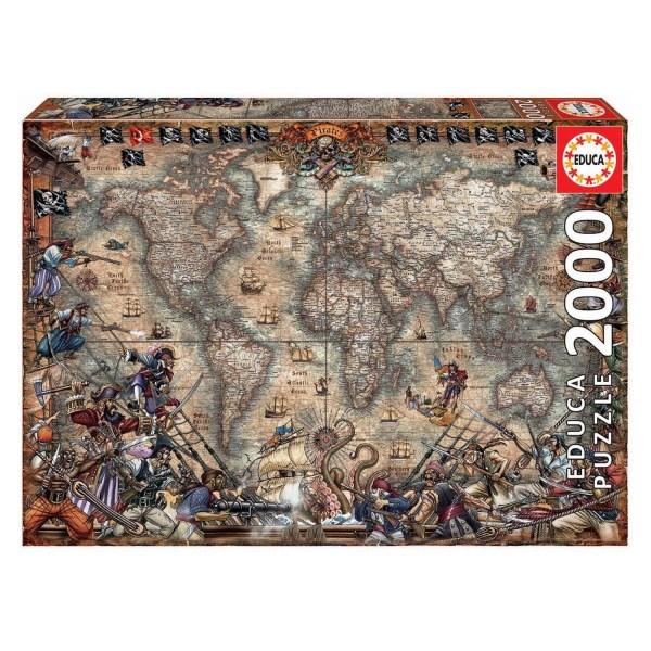 2000 PIEZAS – MAPA DE PIRATAS