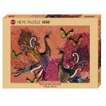 Cuy Games - 1000 PIEZAS - PEACOCKS & BUTTERFLIES -