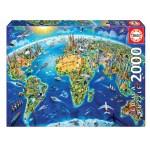 Cuy Games - 2000 PIEZAS - SIMBOLOS DEL MUNDO -