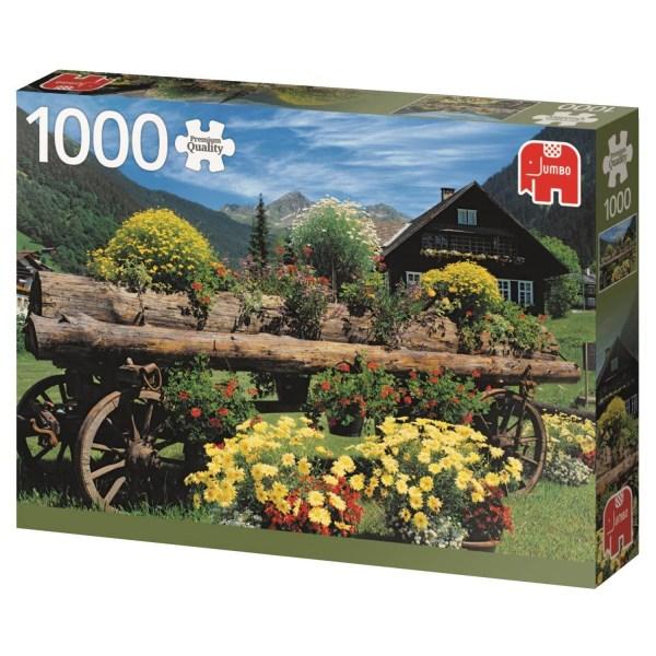 Cuy Games - 1000 PIEZAS - ALPINE FLOWERS -