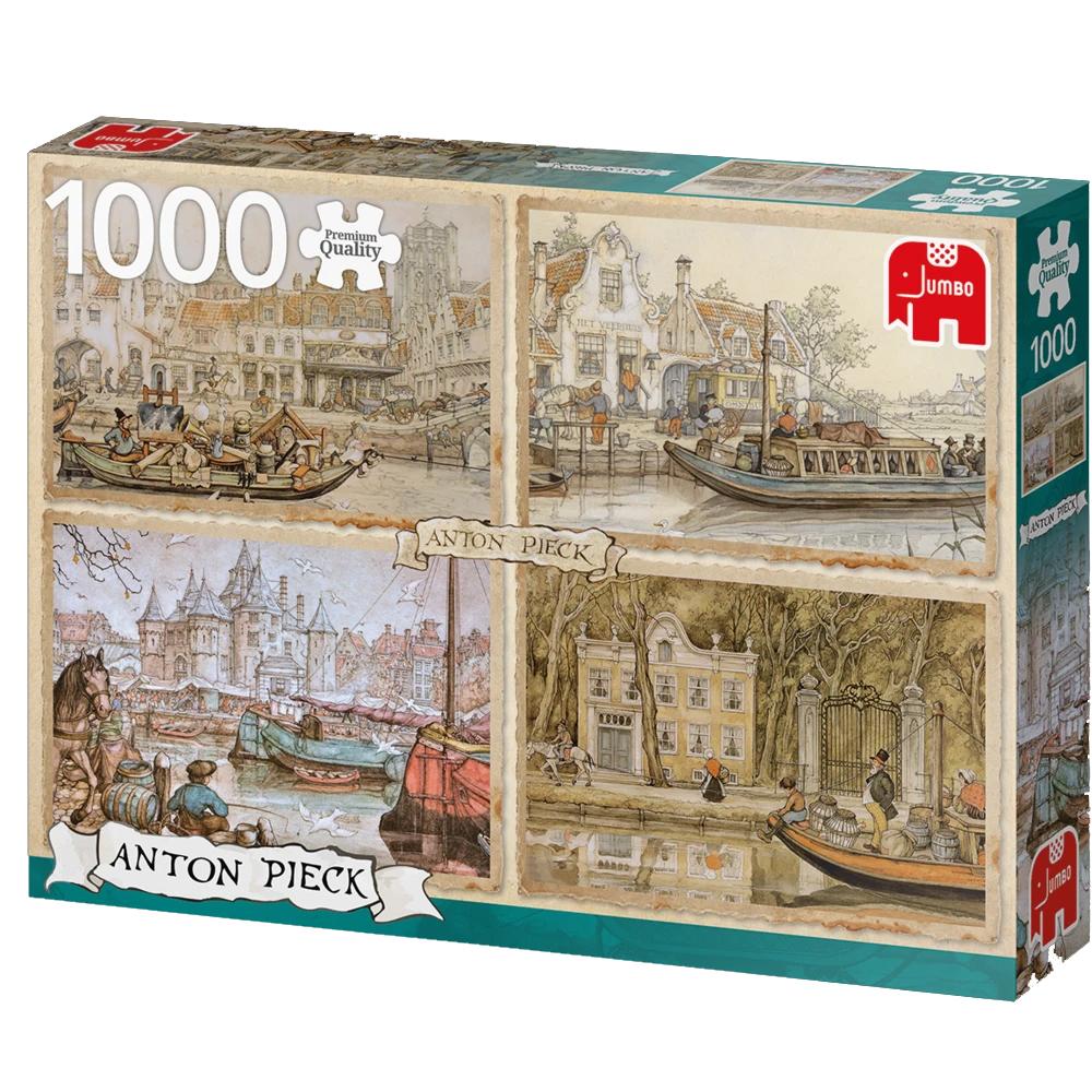 Cuy Games - 1000 PIEZAS - CANAL BOATS -