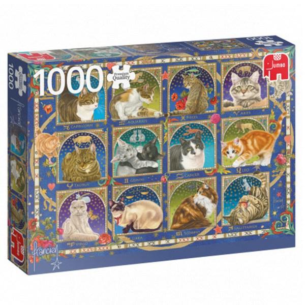 Cuy Games - 1000 PIEZAS - CAT HOROSCOPE -