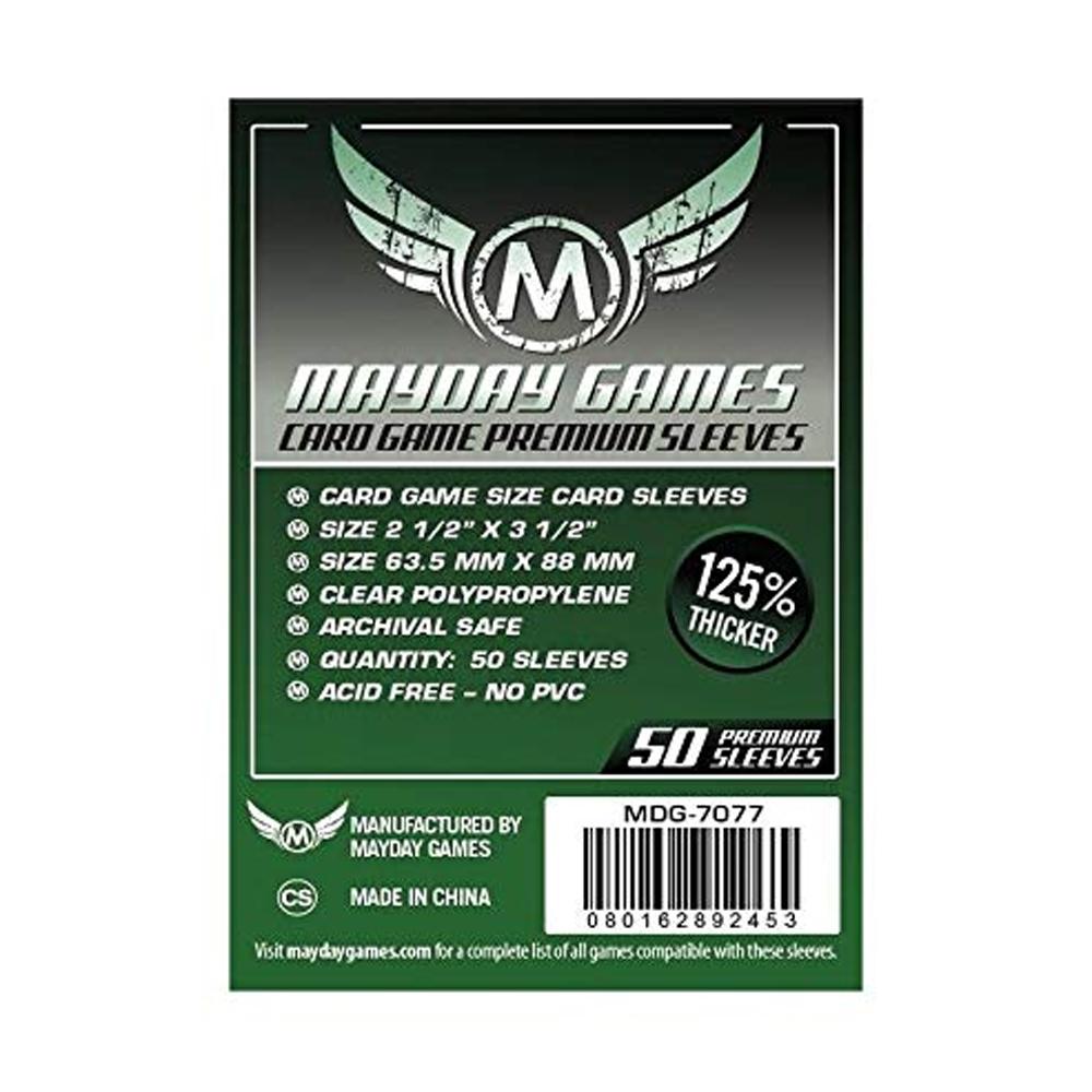 Cuy Games - FUNDA 63.5MMX88MM 50PACK PREMIUM -