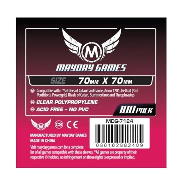 Cuy Games - FUNDA 70MMX70MM 100PACK -