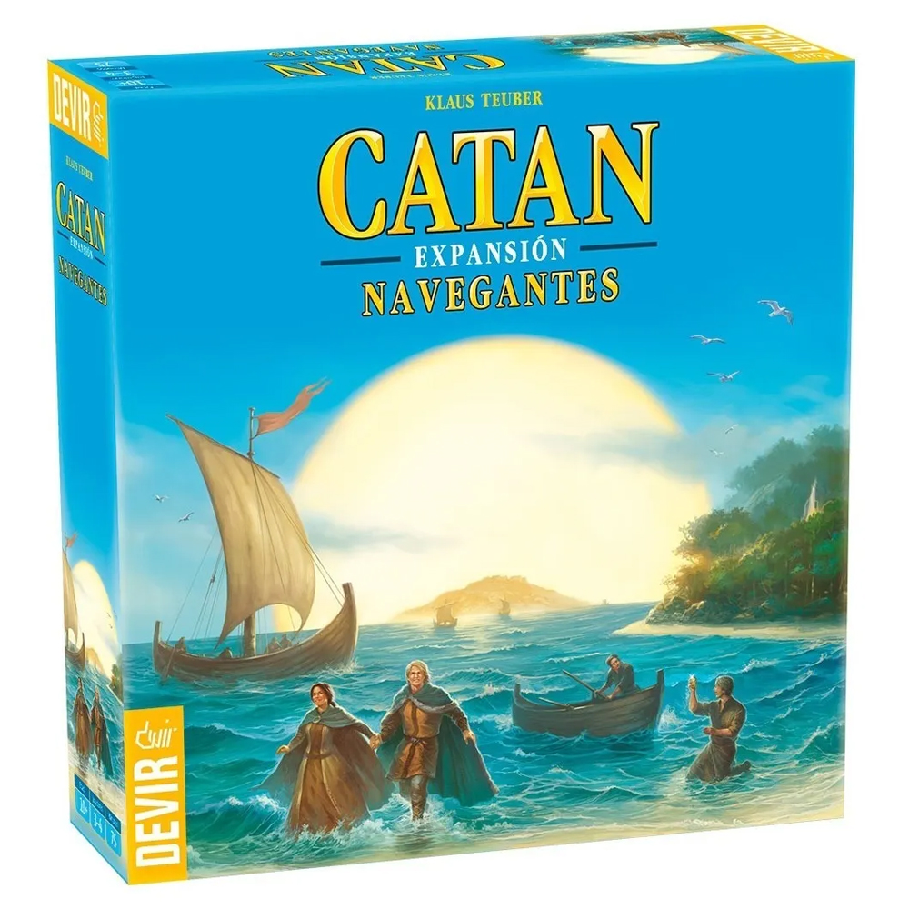 Cuy Games - CATAN EXPANSION NAVEGANTES -