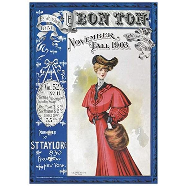 1000 PIEZAS – BON TO MAGAZINE COVER 1903