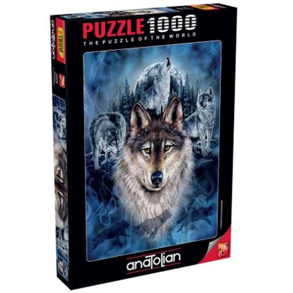 Cuy Games - 1000 PIEZAS - WOLF TEAM -