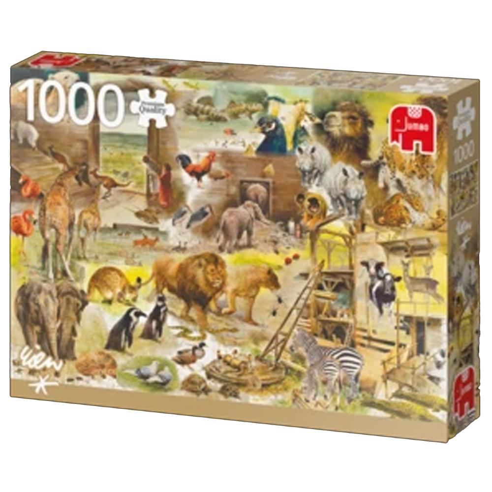 Cuy Games - 1000 PIEZAS - BUILDING NOAHS ARK -