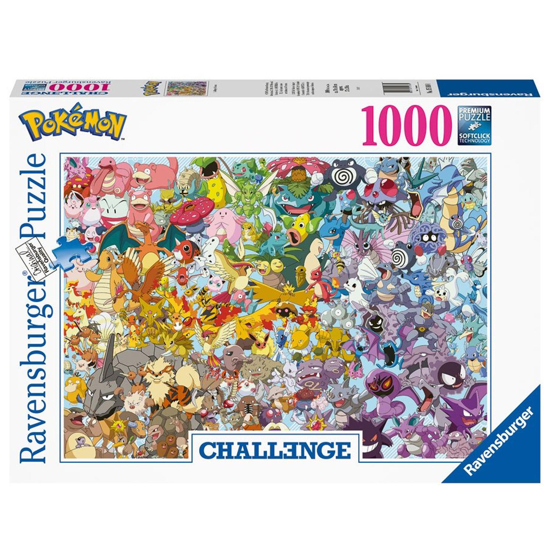 Cuy Games - 1000 PIEZAS - POKEMON CHALLENGE -