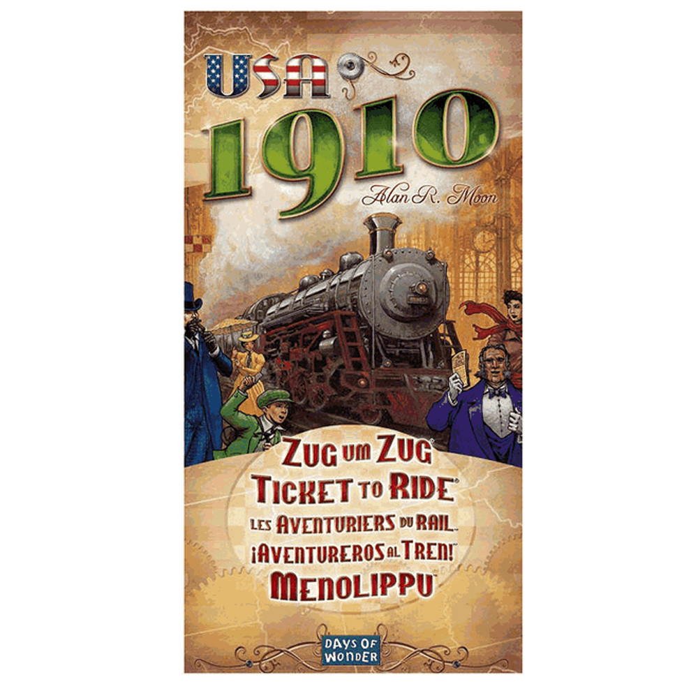 Cuy Games - TICKET TO RIDE 1910 USA -