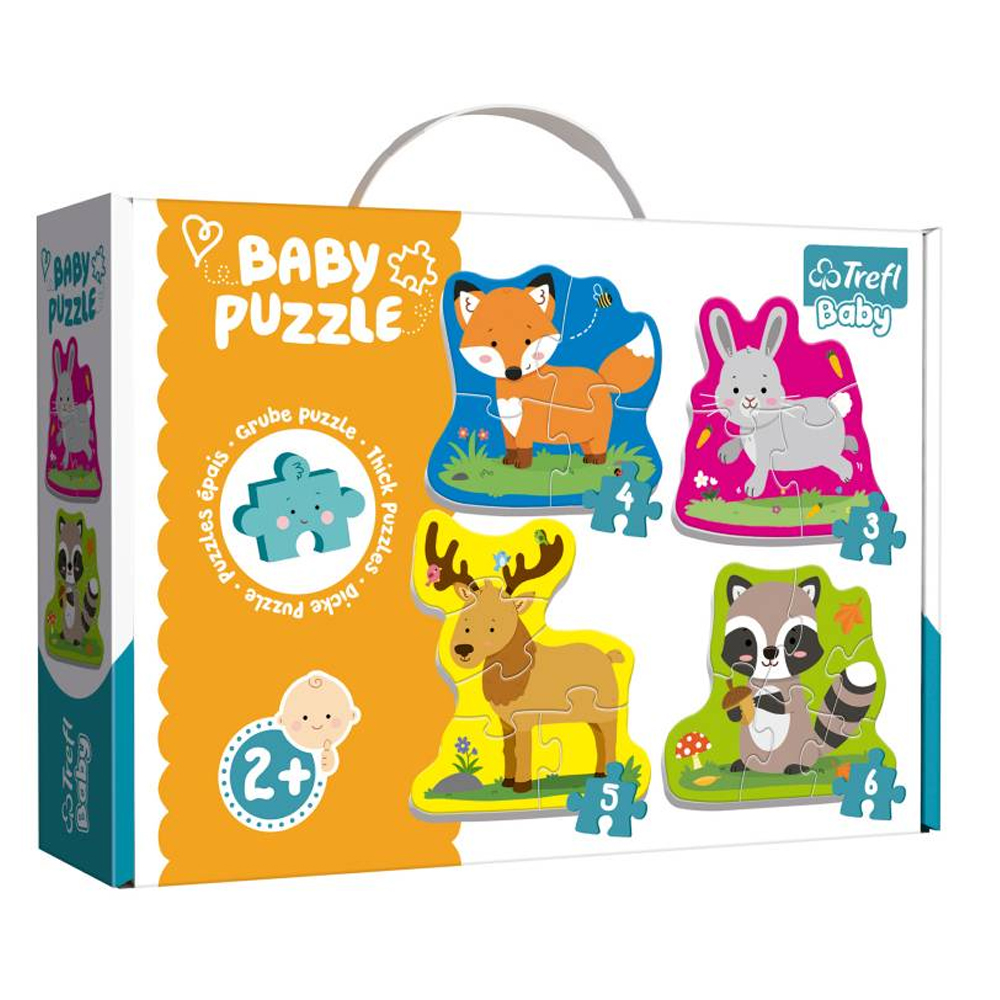 Cuy Games - INFANTIL - BABY PUZZLE - ANIMALES -