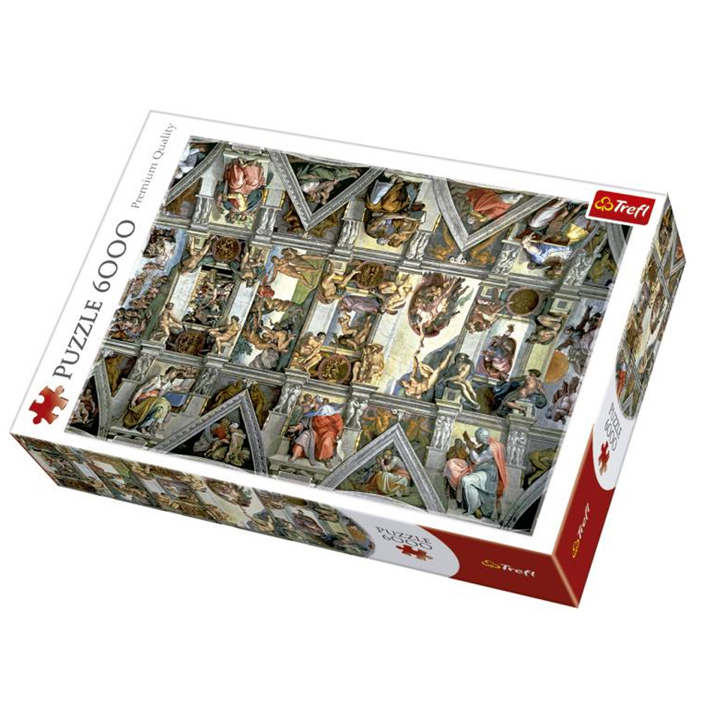 Cuy Games - 6000 PIEZAS - CAPILLA SIXTINA -