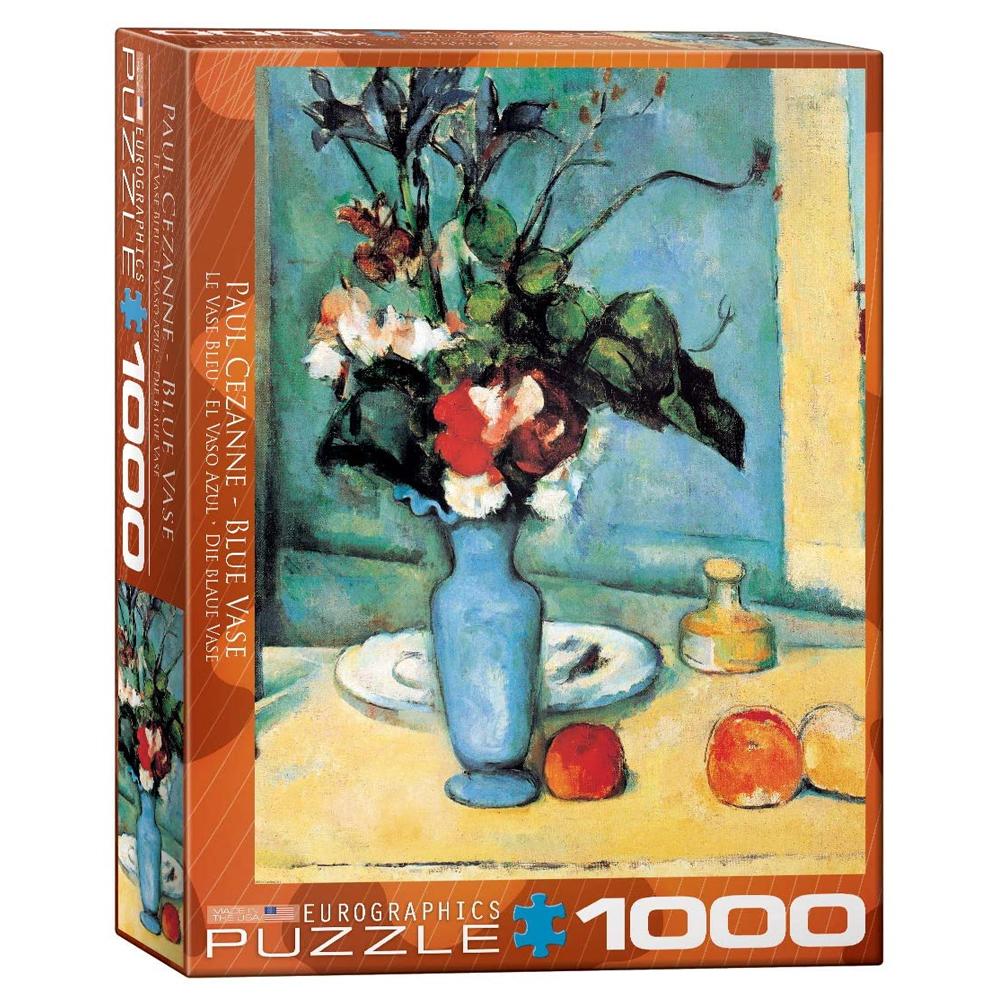 Cuy Games - 1000 PIEZAS - BLUE VASE BY PAUL CEZANNE -