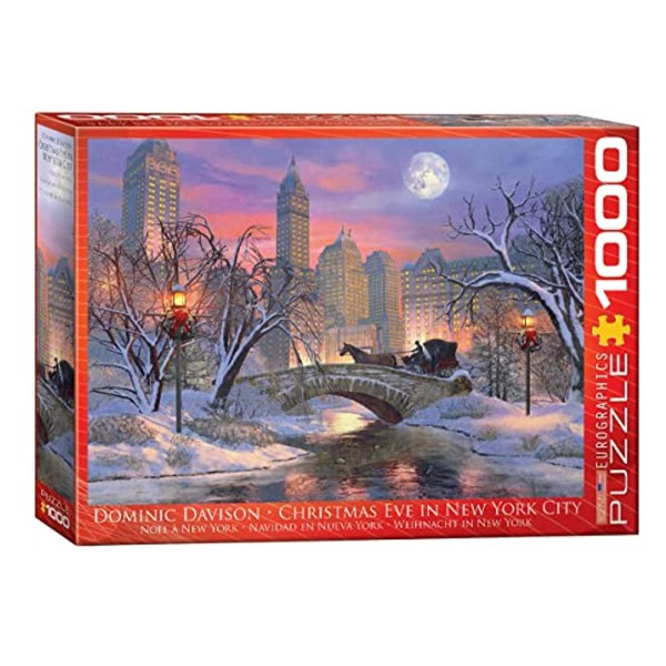 1000 PIEZAS – CHRISTMAS EVE IN NEW YORK CITY BY DOMINIC DAVISON