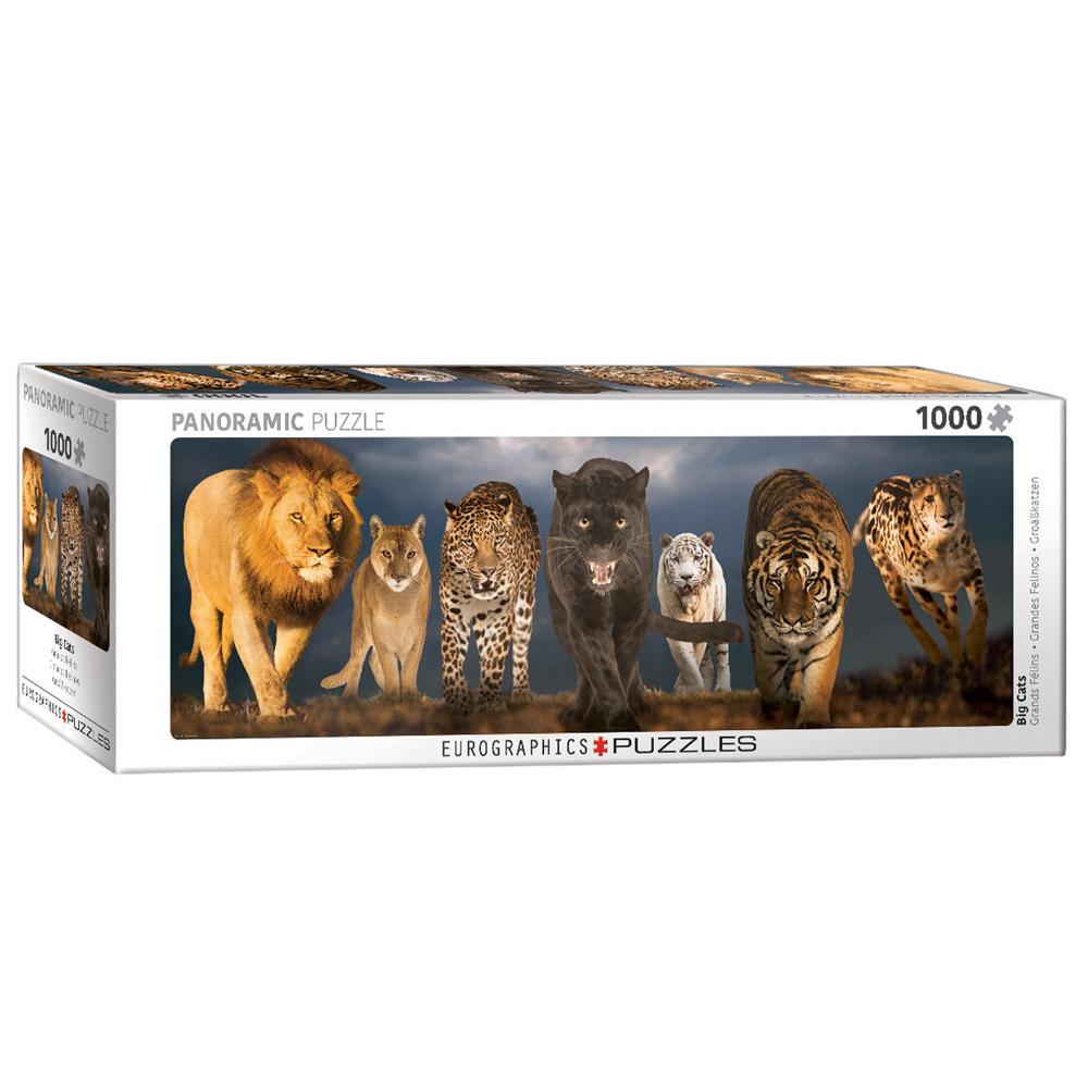 Cuy Games - 1000 PIEZAS - BIG CATS PANORAMIC -