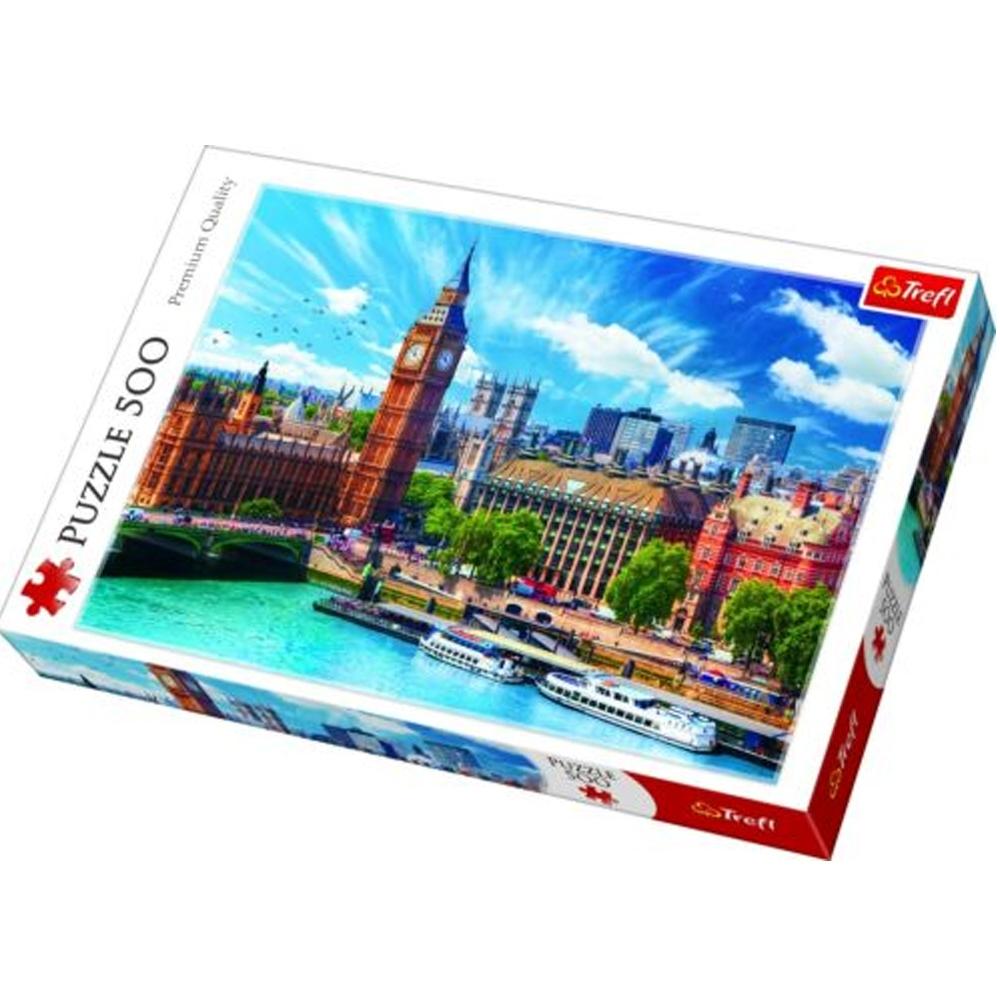 Cuy Games - 500 PIEZAS - DIA SOLEADO EN LONDRES -