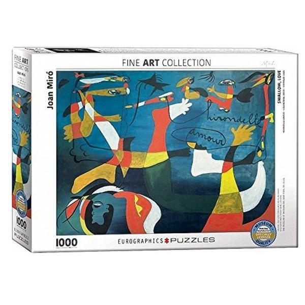 Cuy Games - 1000 PIEZAS - SWALLOW, LOVE BY JOAN MIRO -
