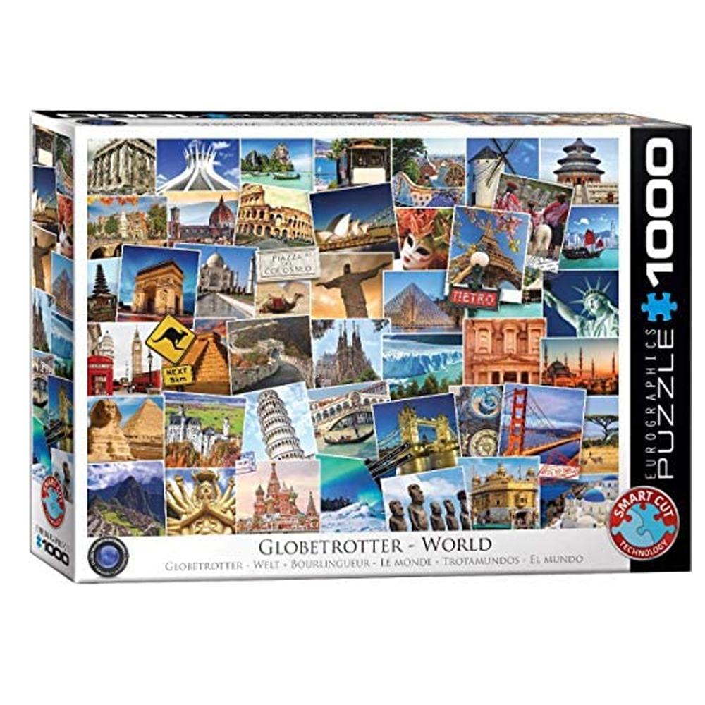 Cuy Games - 1000 PIEZAS - WORLD GLOBETROTTER -