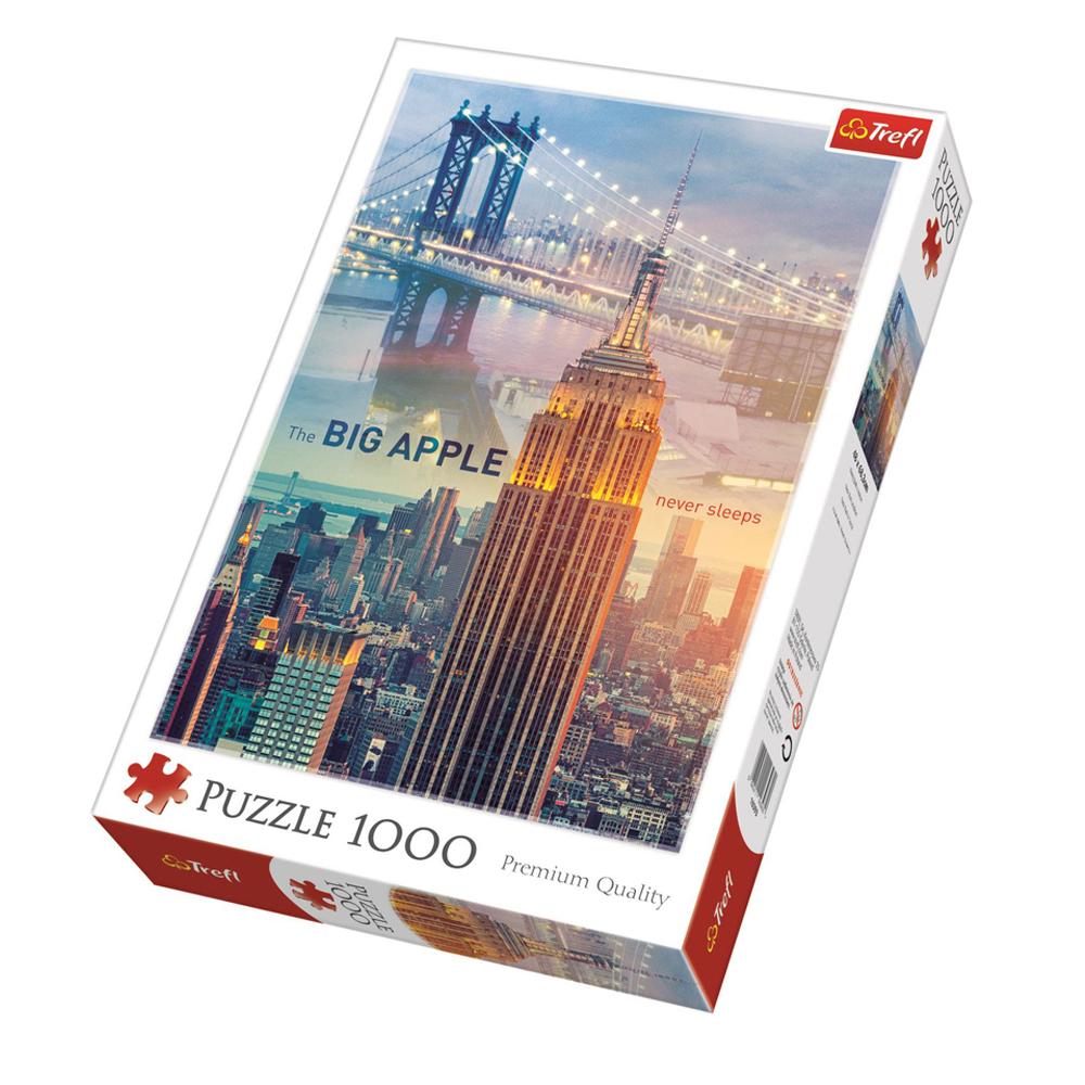 Cuy Games - 1000 PIEZAS - NEW YORK AL AMANECER -
