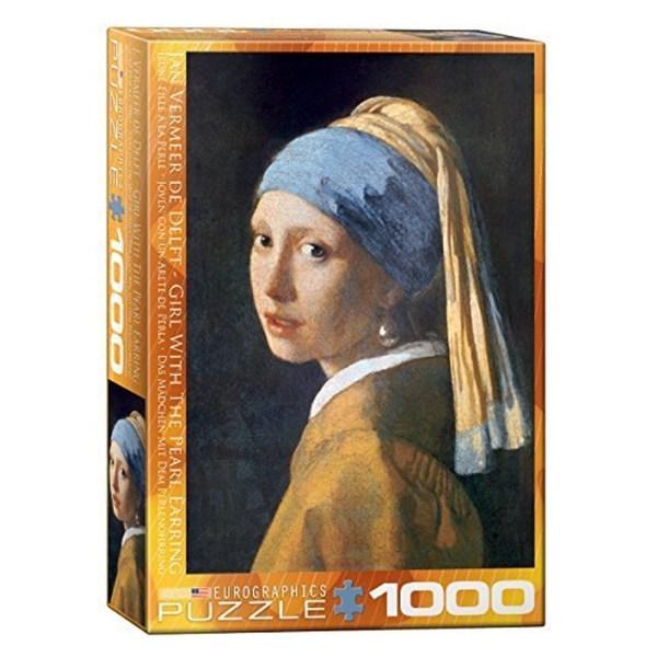 Cuy Games - 1000 PIEZAS - VERMEER GIRL PEARL EARRING -