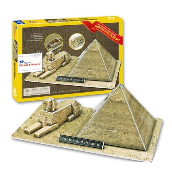 Cuy Games - C&H - SPHINX AND PYRAMID - EGIPTO -