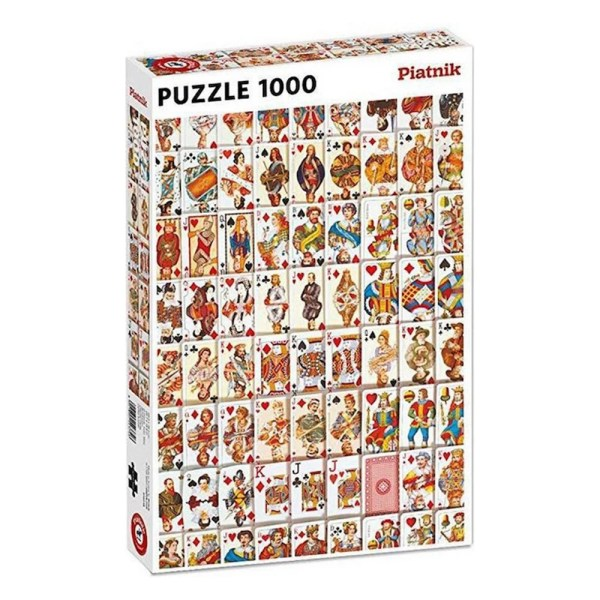 Cuy Games - 1000 PIEZAS - PLAYING CARDS -