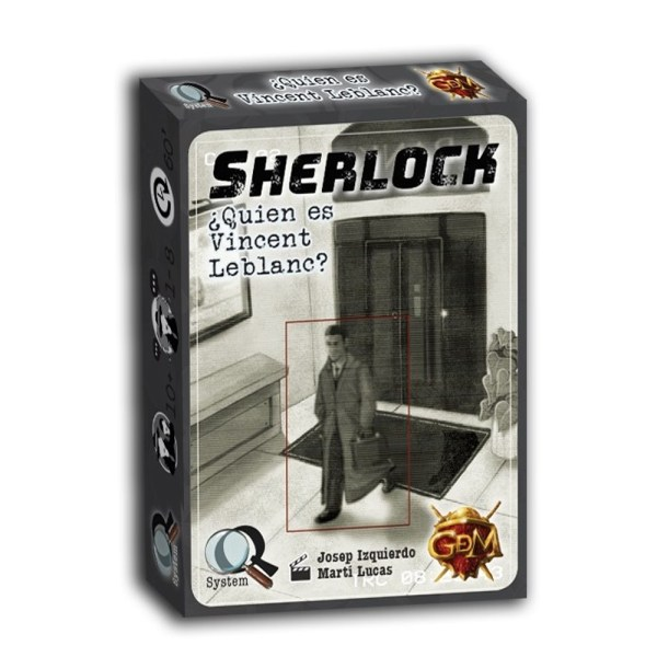 SHERLOCK – ?QUIEN ES VICENT LEBLANC?