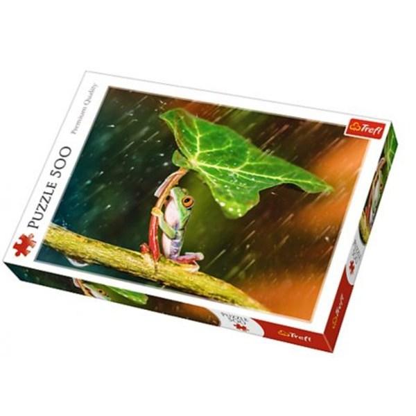 Cuy Games - 500 PIEZAS - PARAGUAS VERDES -