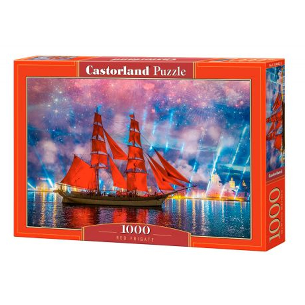 Cuy Games - 1000 PIEZAS - RED FRIGATE -
