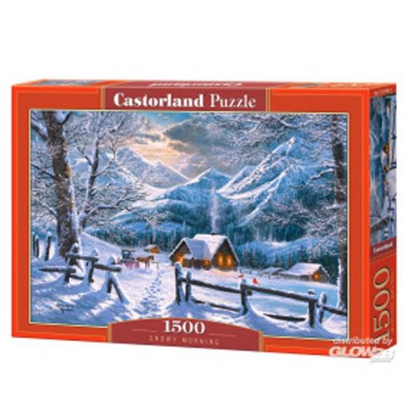 Cuy Games - 1500 PIEZAS - SNOWY MORNING -