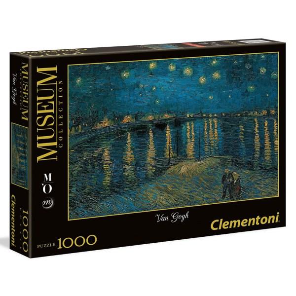 Cuy Games - 1000 PIEZAS - STARRY NIGHT ON THE RHONE - NOCHE ESTRELLADA -