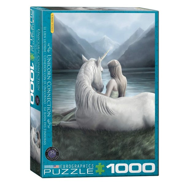 1000 PIEZAS – UNICORN CONNECTION – BY ANNE STOKES